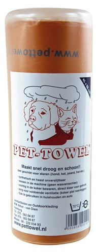 Pet-towel assorti large 45x66 cm