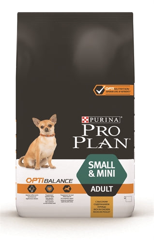 Pro plan dog adult small / mini kip 7 kg