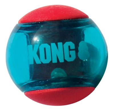 Kong squeez action rood 8,5x8,5x8,5 cm