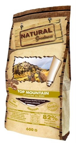 Natural greatness top mountain 600 gr