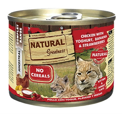 Natural greatness chicken / yoghurt 200 gr
