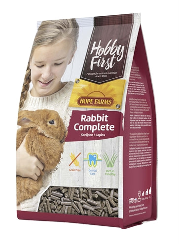 Hobbyfirst hopefarms rabbit complete 3 kg