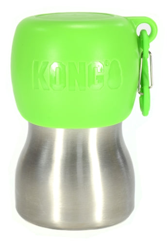 Kong h2o drinkfles rvs groen 280 ml