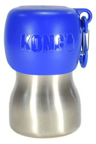 Kong h2o drinkfles rvs blauw 280 ml