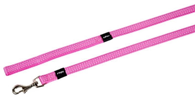 Rogz for dogs snake long lijn roze 16 mmx1,8 mtr
