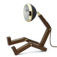 Laden Sie das Bild in den Galerie-Viewer, Mr. Wattson Tischlampe - Brass Matte Black