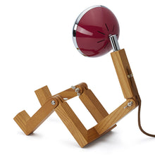 Laden Sie das Bild in den Galerie-Viewer, Mini Mr. Wattson Tischlampe - Cherry Red