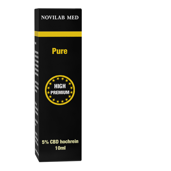 Pure CBD 5% - 10 ml - Novilab Med