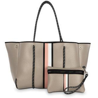 Haute Shore Greyson Totes with Light Backgrounds