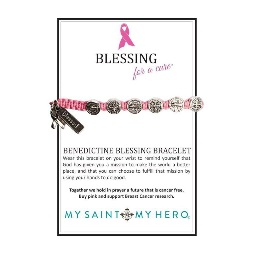My Saint My Hero Blessings For a Cure Bracelet