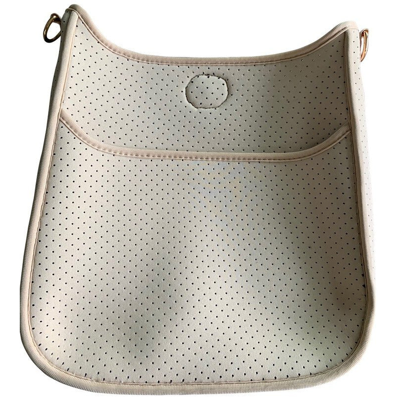 Neoprene Perforated Camel  Messenger No Strap