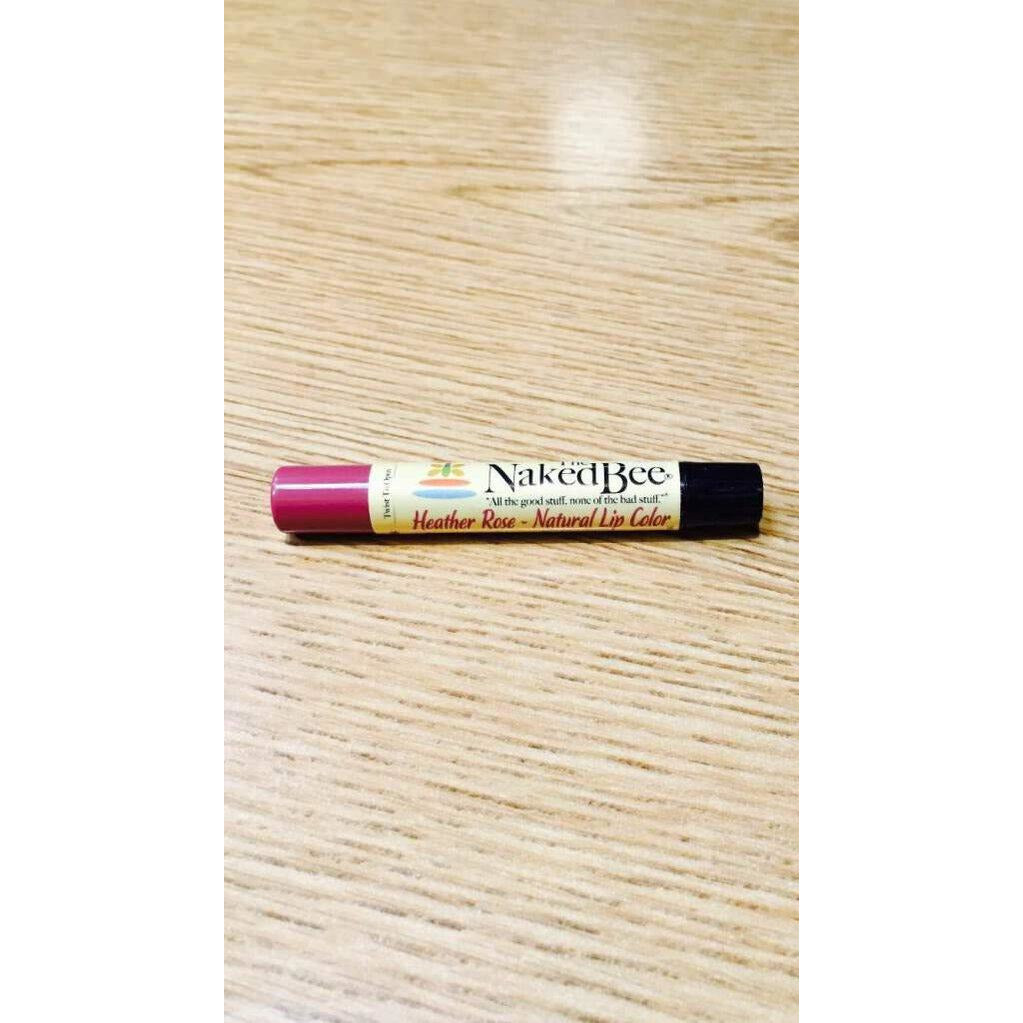 The Naked Bee Lip Color  Heather Rose