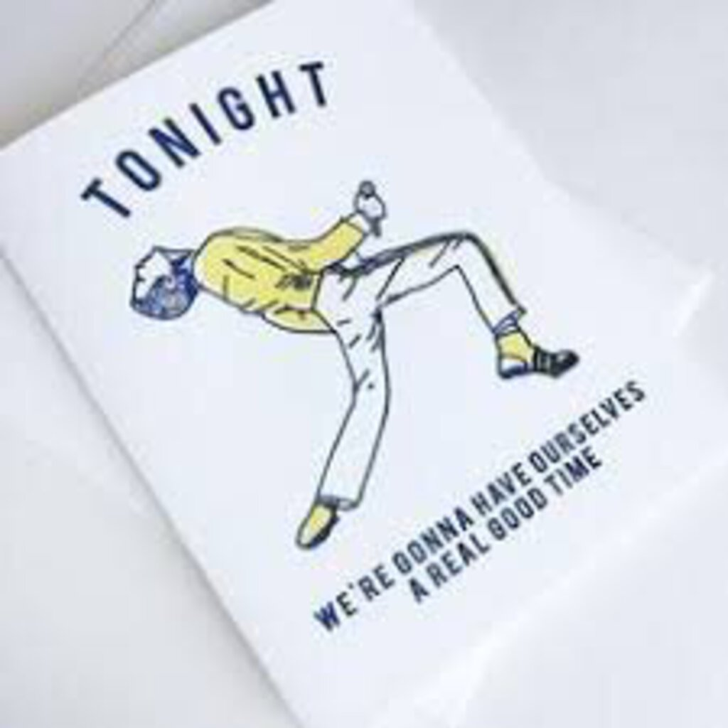 Freddie Mercury Tonight Greeting Card