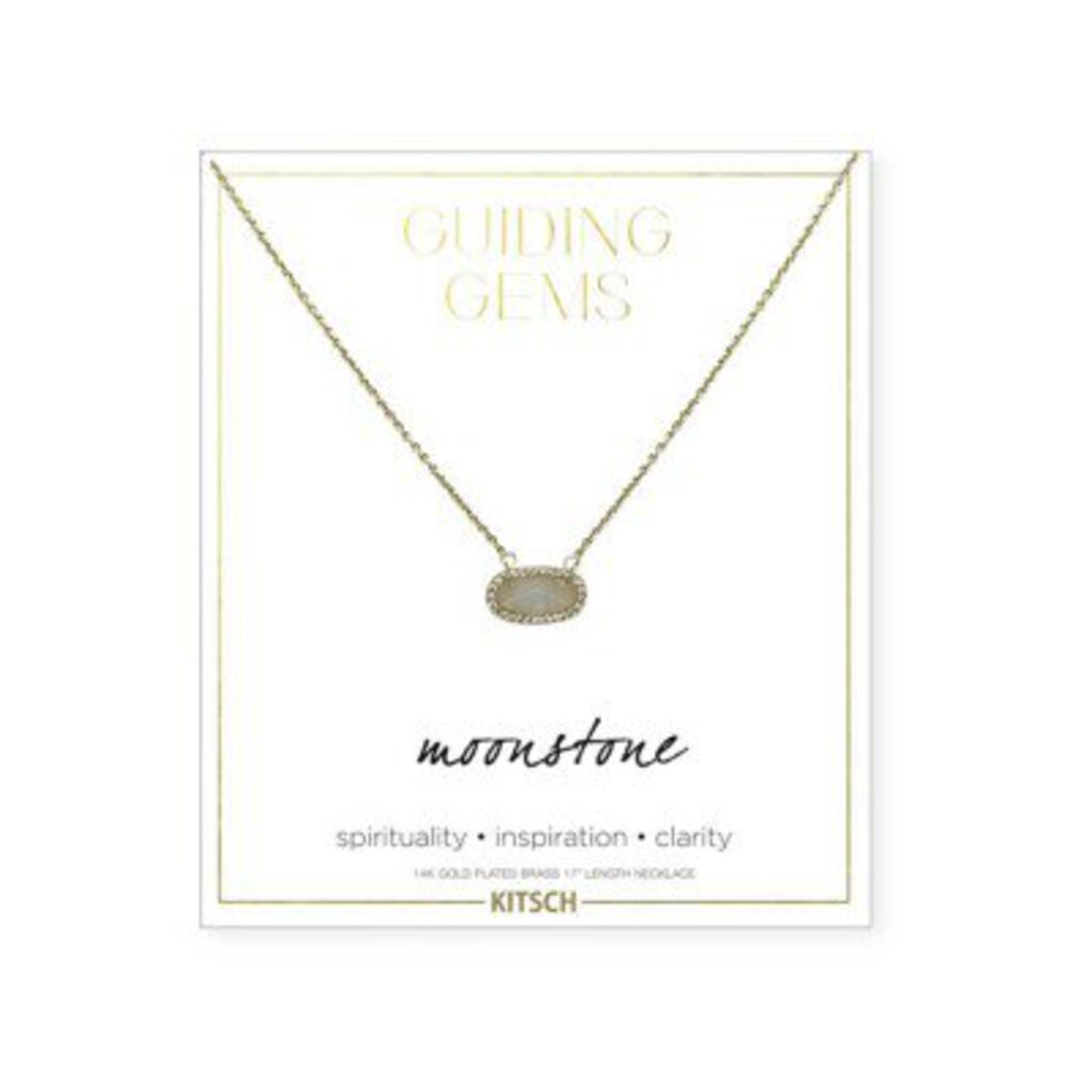 Kit-sch Guiding Gems Moonstone Necklace