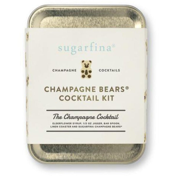Sugarfina Champagne Bears Cocktail Carry On Kit