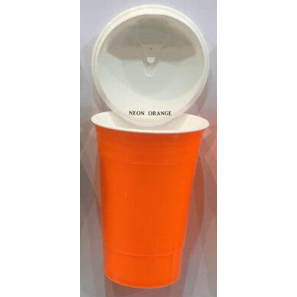Beach cup Bright orange
