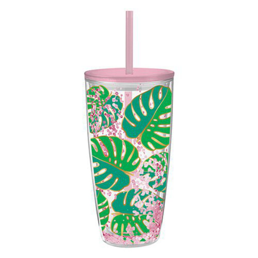 Monsterra Leaves Travel Tumbler
