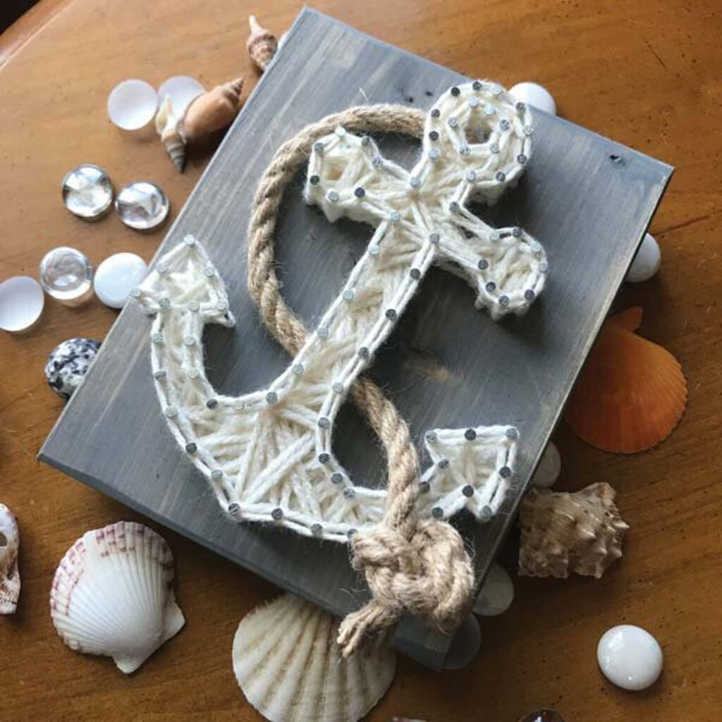 Anchor Mini String Art Kit