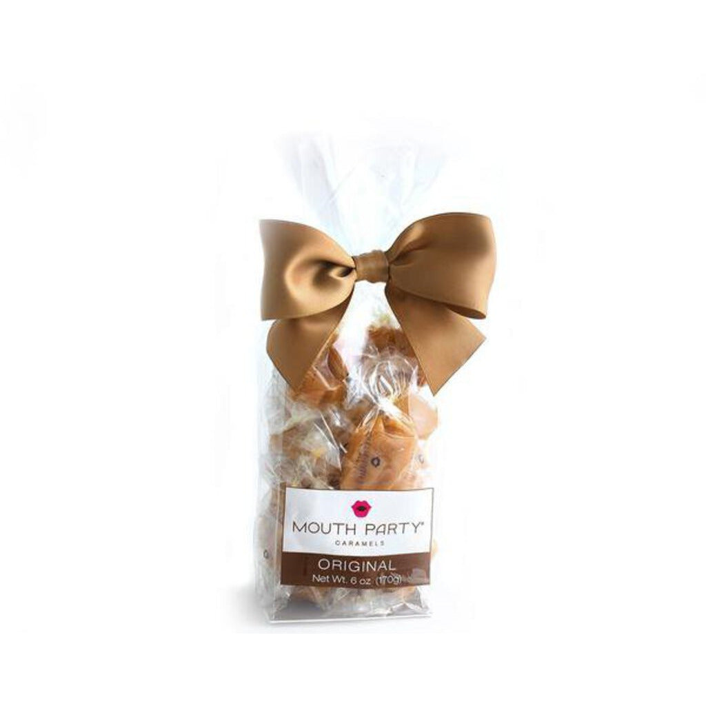 Mouth Party Original Caramels 6oz Gift Bag