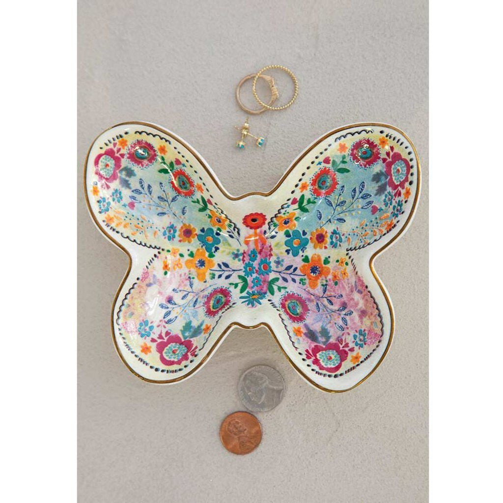 Butterfly Trinket Bowl