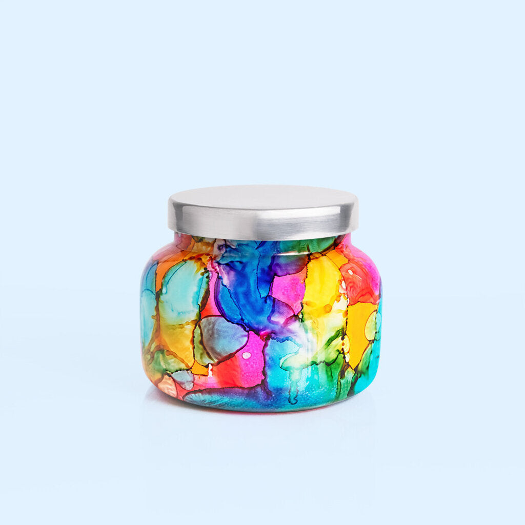Capri Blue-Volcano Signature Rainbow Jar Candle 19 oz