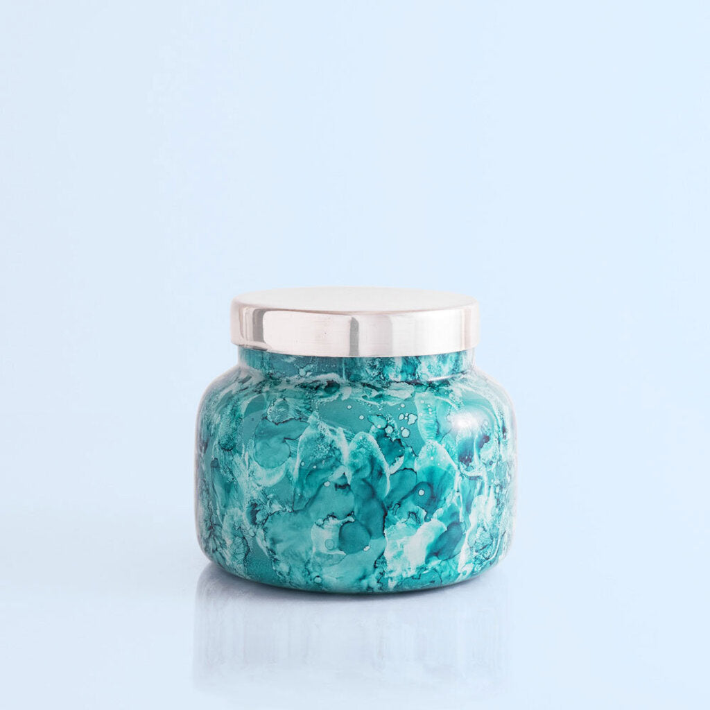 Capri Blue-Volcano Signature Mint Jar Candle 19 oz
