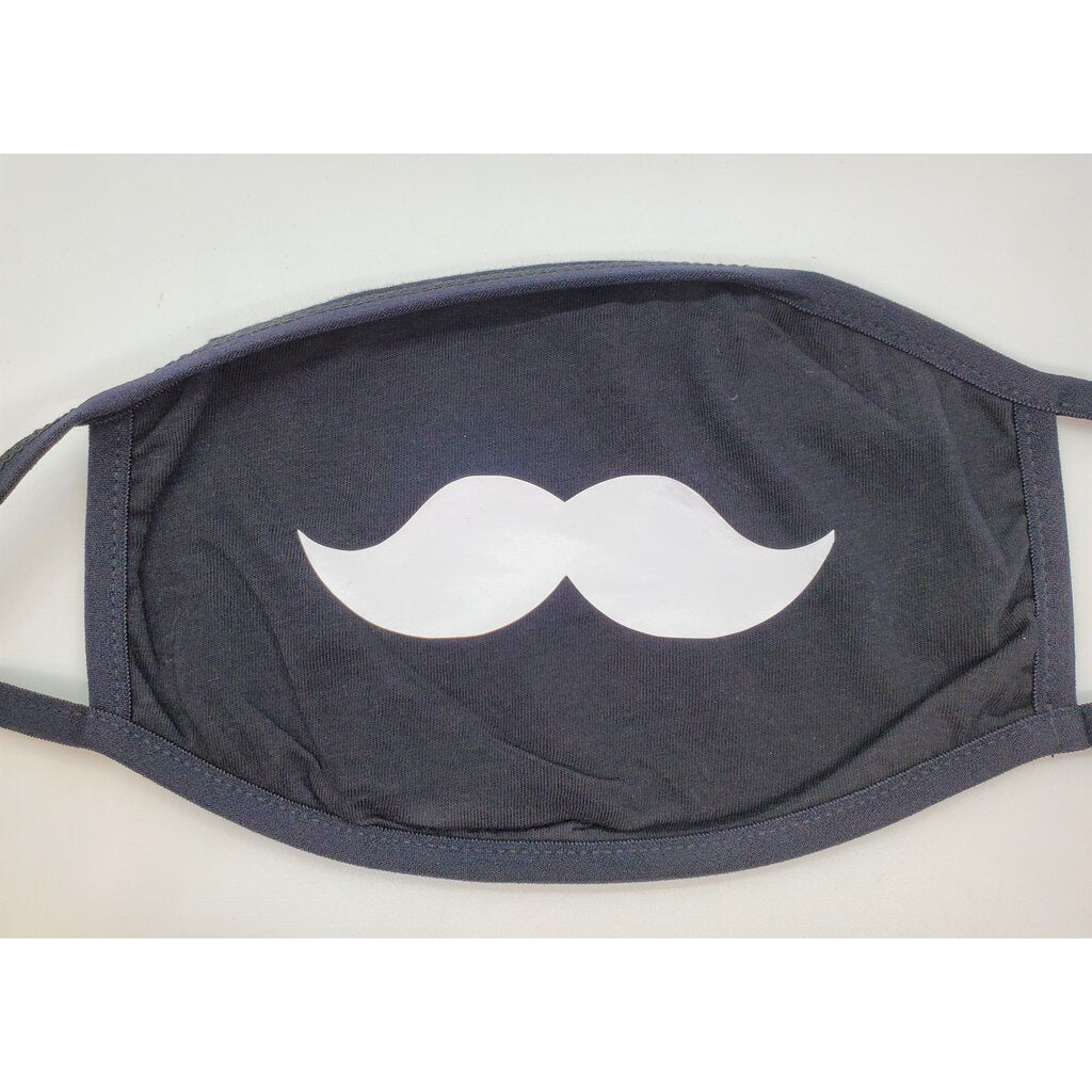 Face Mask with Mustache-Adult