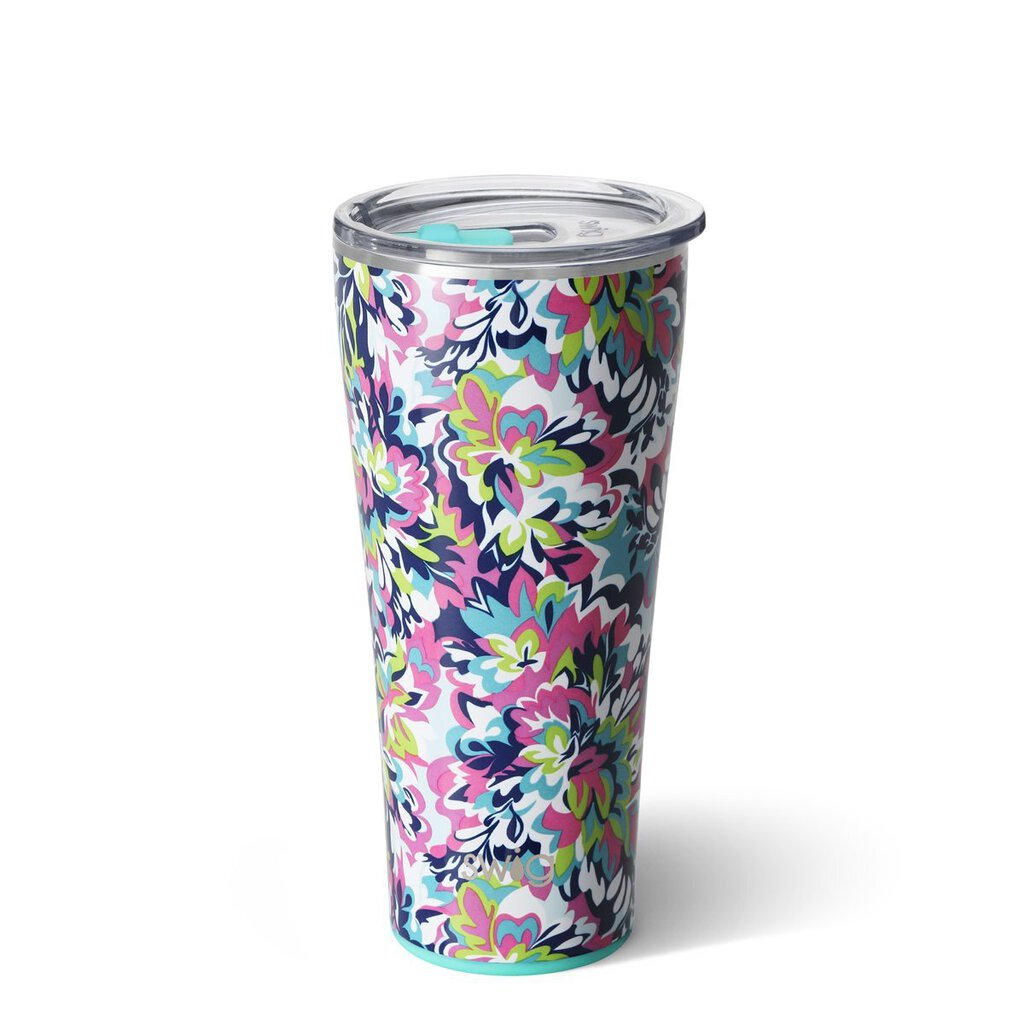 Swig 32oz Tumbler-Frilly Lilly