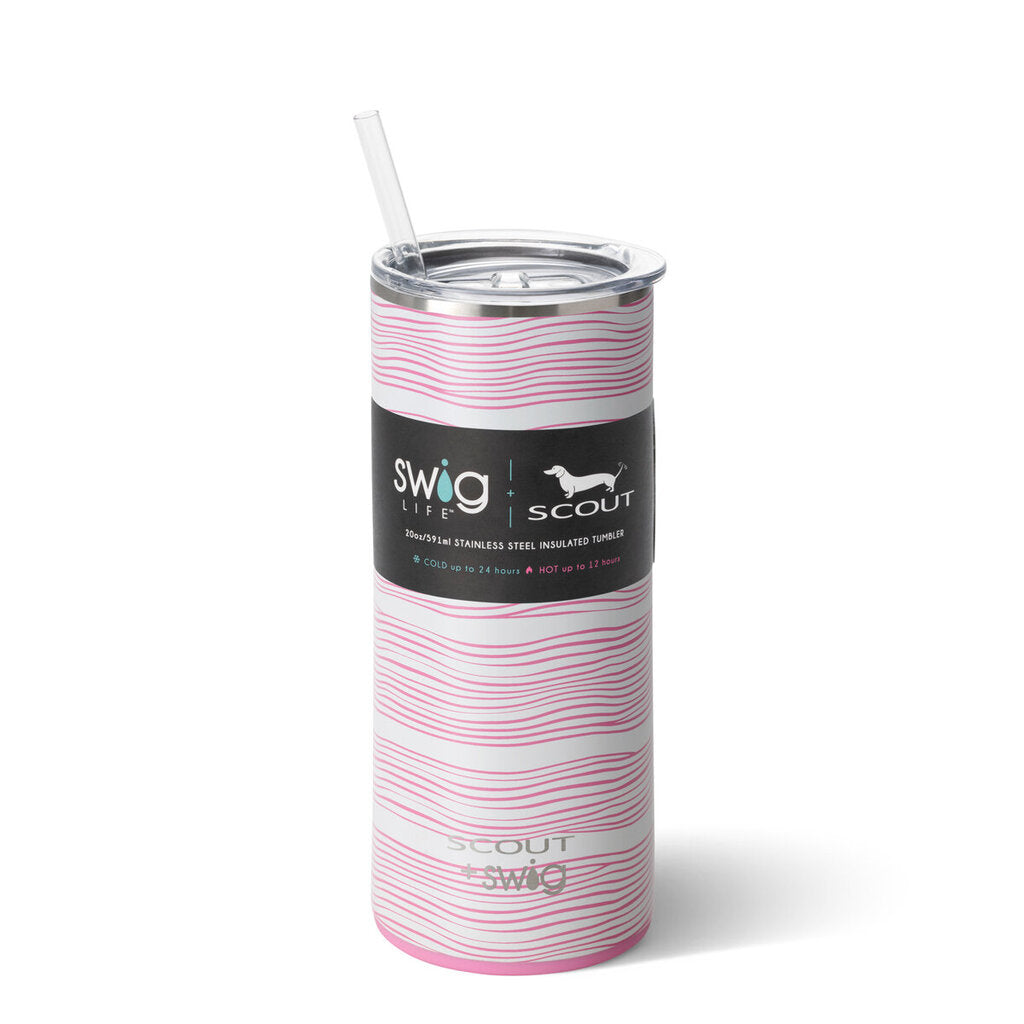 Swig-20oz Tumbler-Wavy Love by Scout