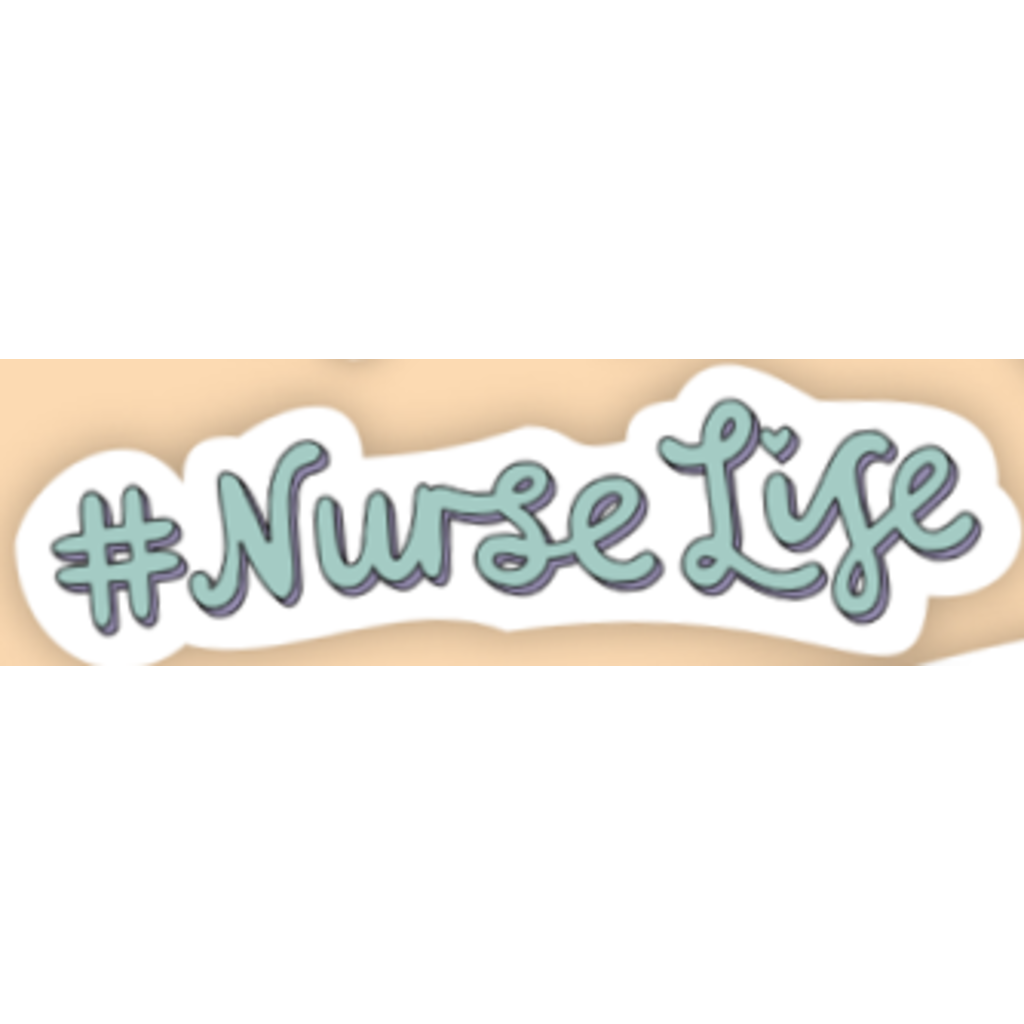 #NurseLife Sticker