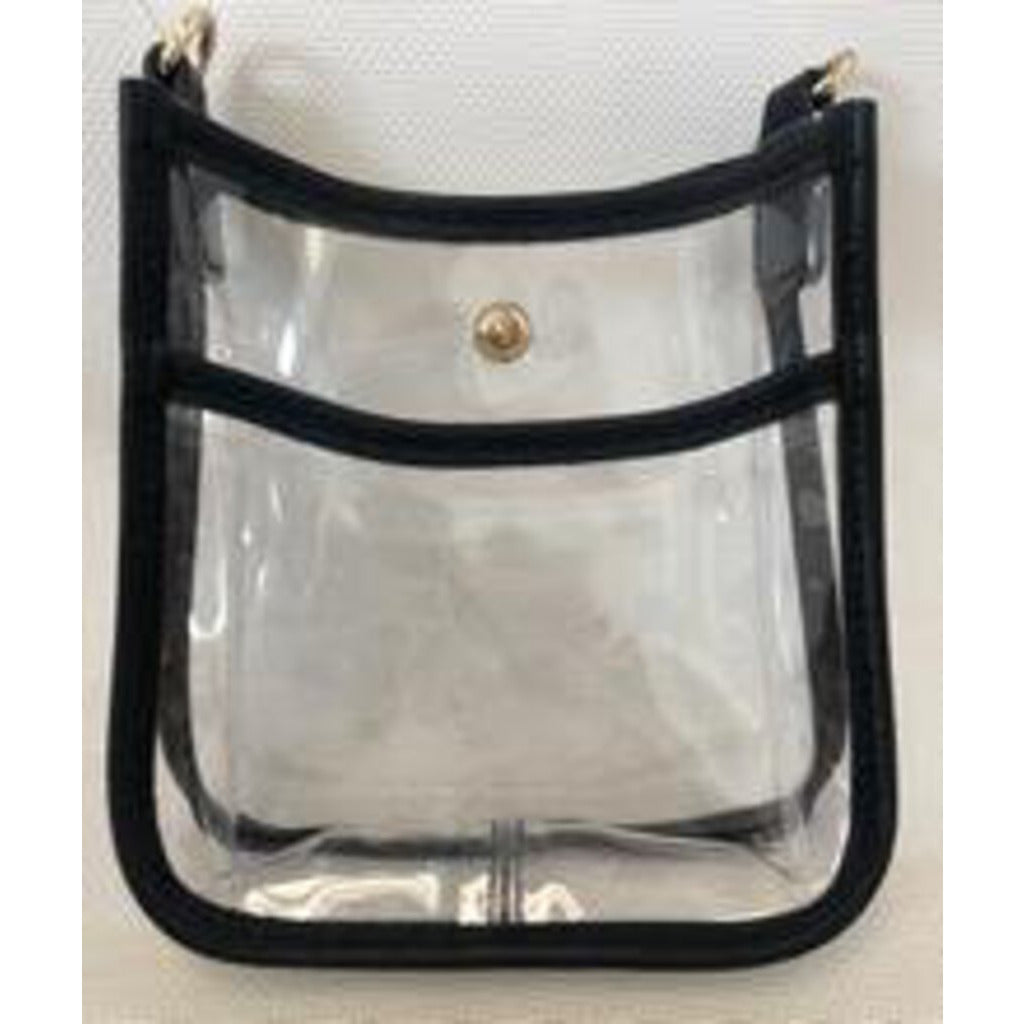 Clear Messenger Bag-SMALL-No Strap