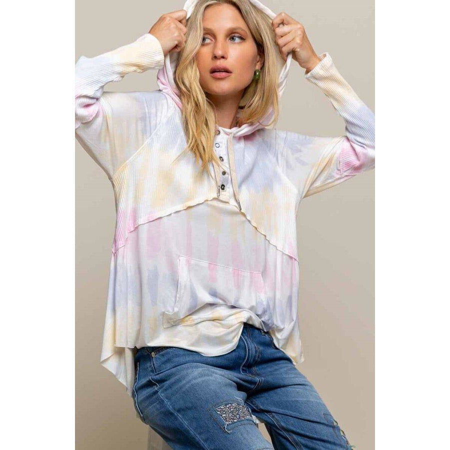 Feeling Cozy Yet Chic Top in Cotton Candy