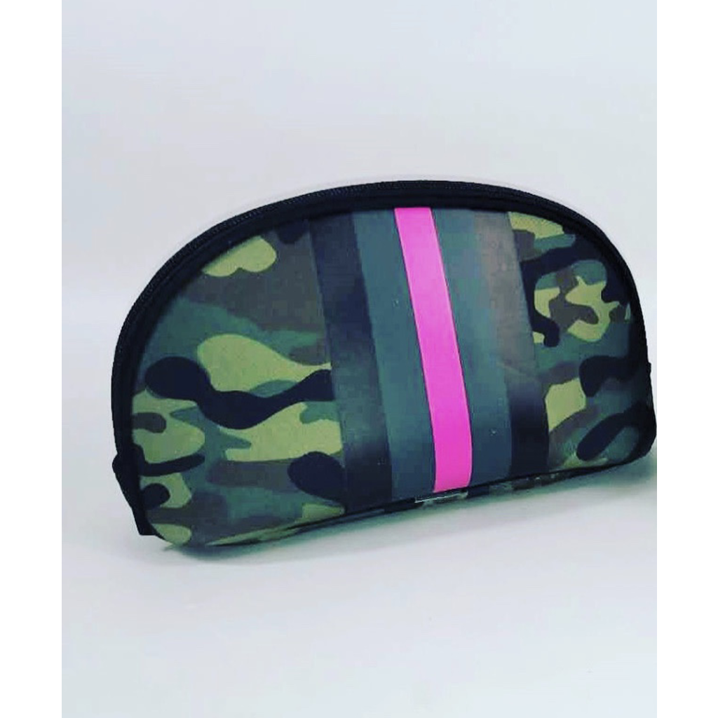 Prenelove-Pink Army Cosmetic Bag