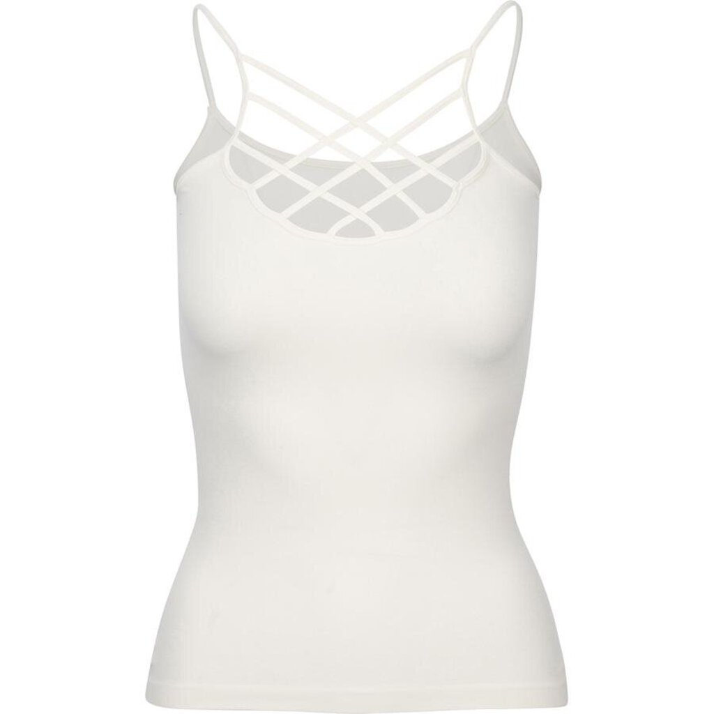 Spider Cage Criss Cross Cami-Ivory-OS