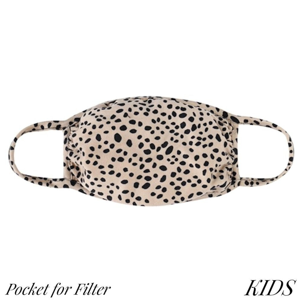 Face Mask-Dalmation Spots with Filter-Kids