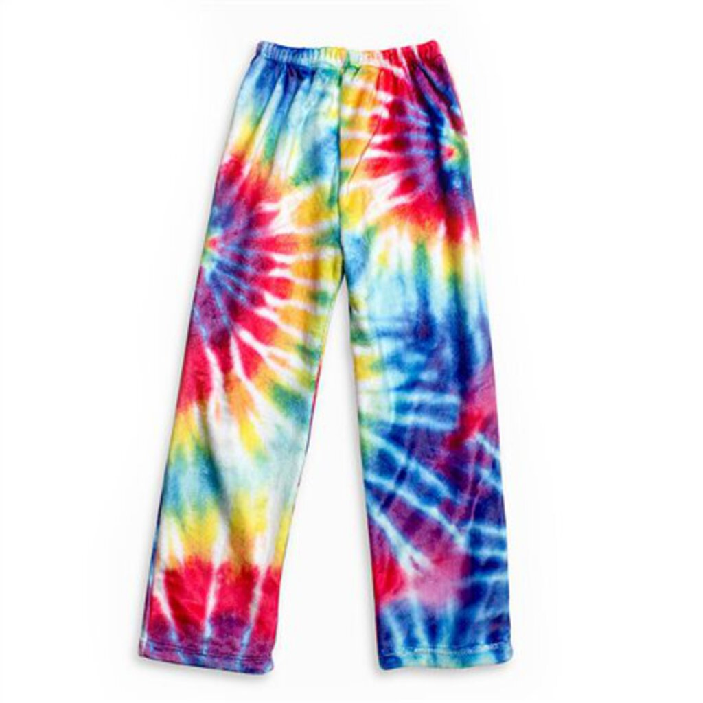 Primary Color Tie Dye Lounge Pants 6-6x