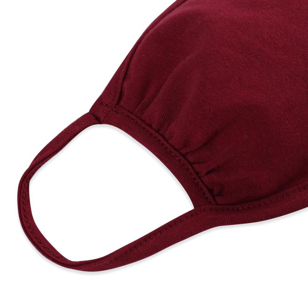 Face Mask-Maroon-Adults