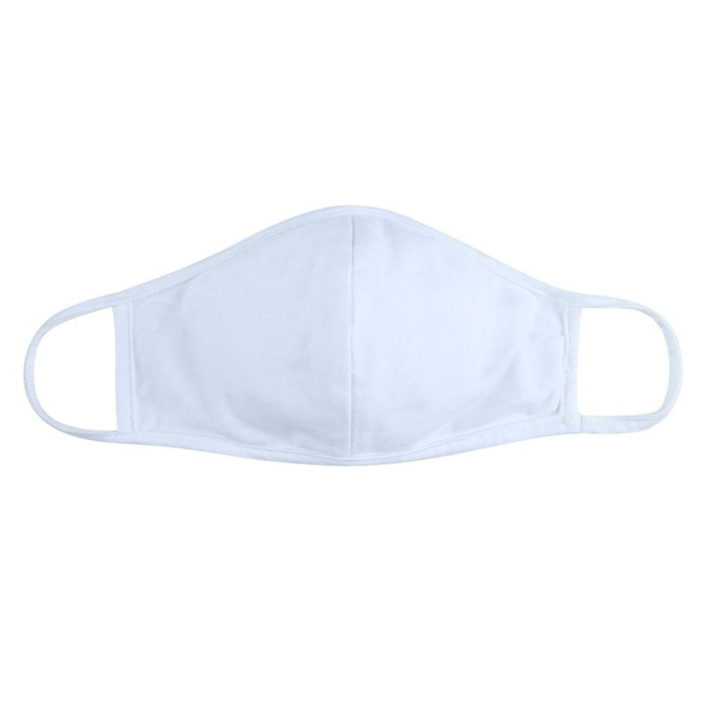 Face Mask-White with Seam-Adult