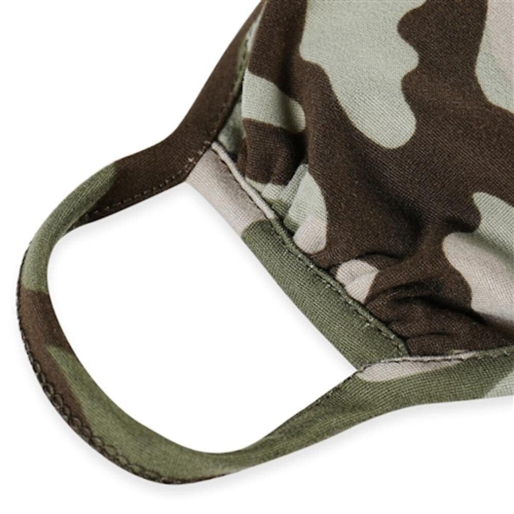 Face Mask-Olive Camo-Adult