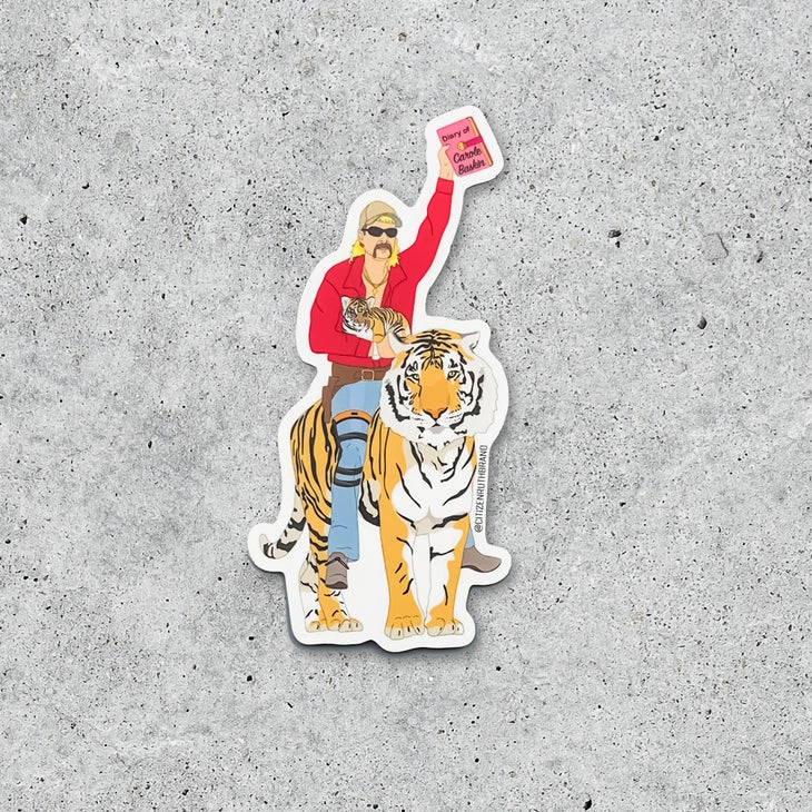 Joe Exotic Tiger King Sticker