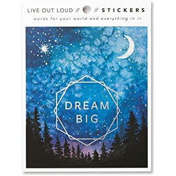 Live Out Loud Stickers