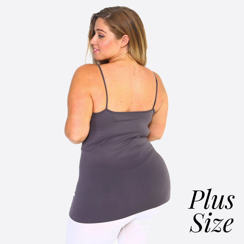 Triple Criss Cross Seamless Cami-Plus Size