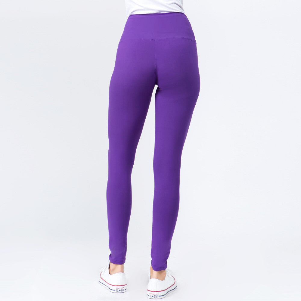 Purple Leggings-One Size