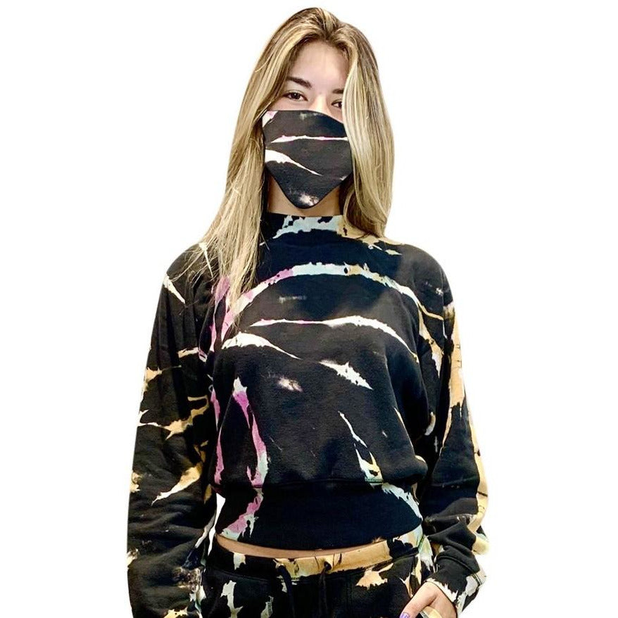 Night Hawk Burnout Hoodie