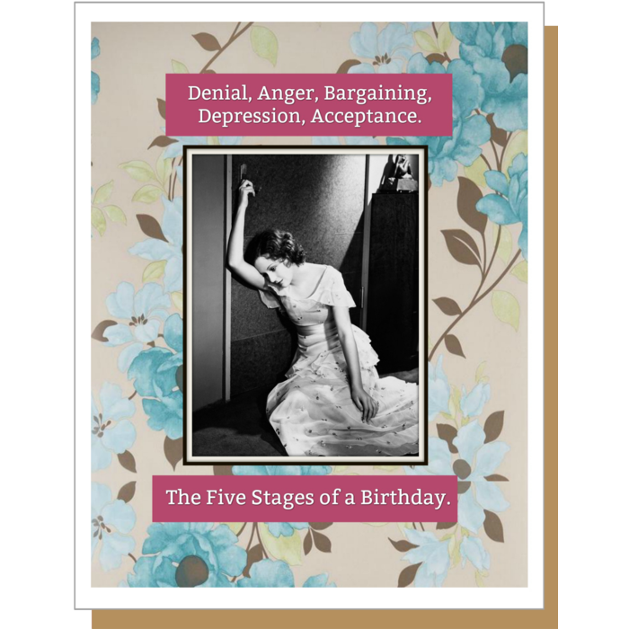 Five Stages Greeting Card