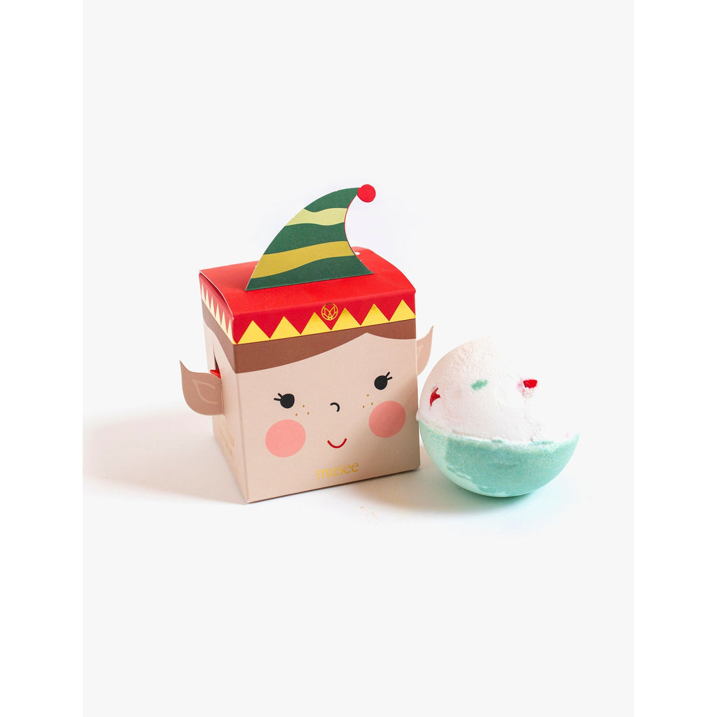 Musee Jolly Little Elf Boxed Bath Bomb