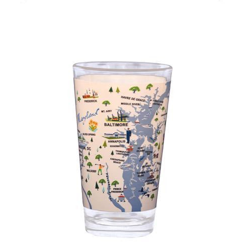 Chesapeake Bay Pint Glass