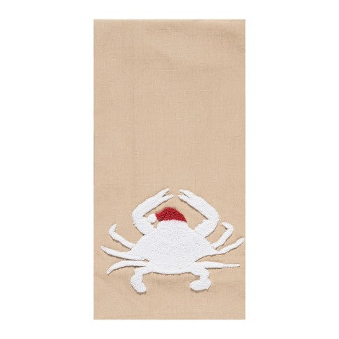 Santa Crab Kitchen Towel