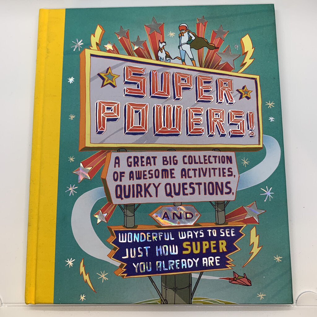 Super Powers Book