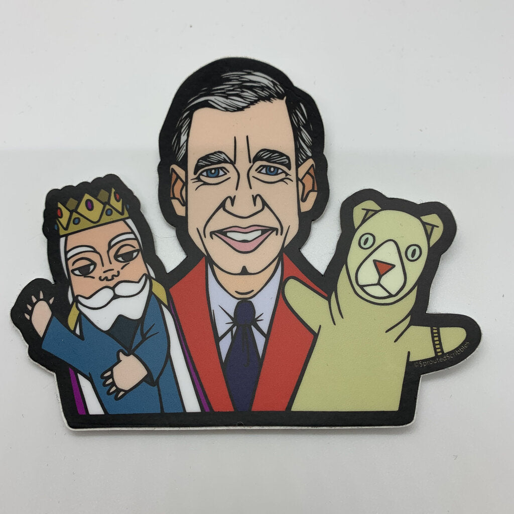 Fred Rogers Sticker